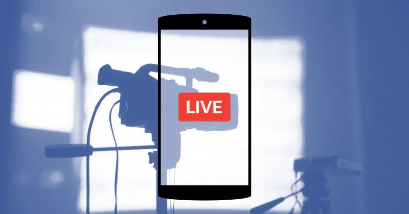 Facebook LiveТрансляцию 1