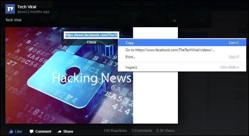 Скачать Видео из Facebook