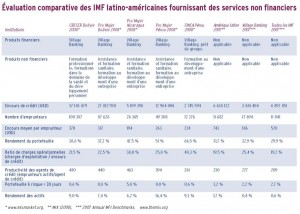 Microfinance et services non financiers