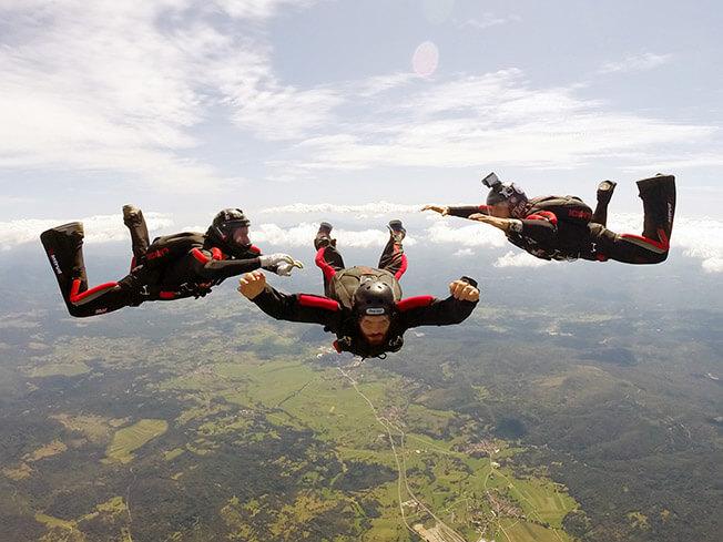 AFF padalski tečaj - 3. samostojni skok