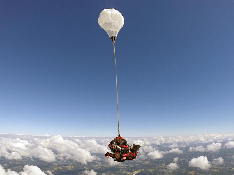 skok s padalom - varnost na prvem mestu