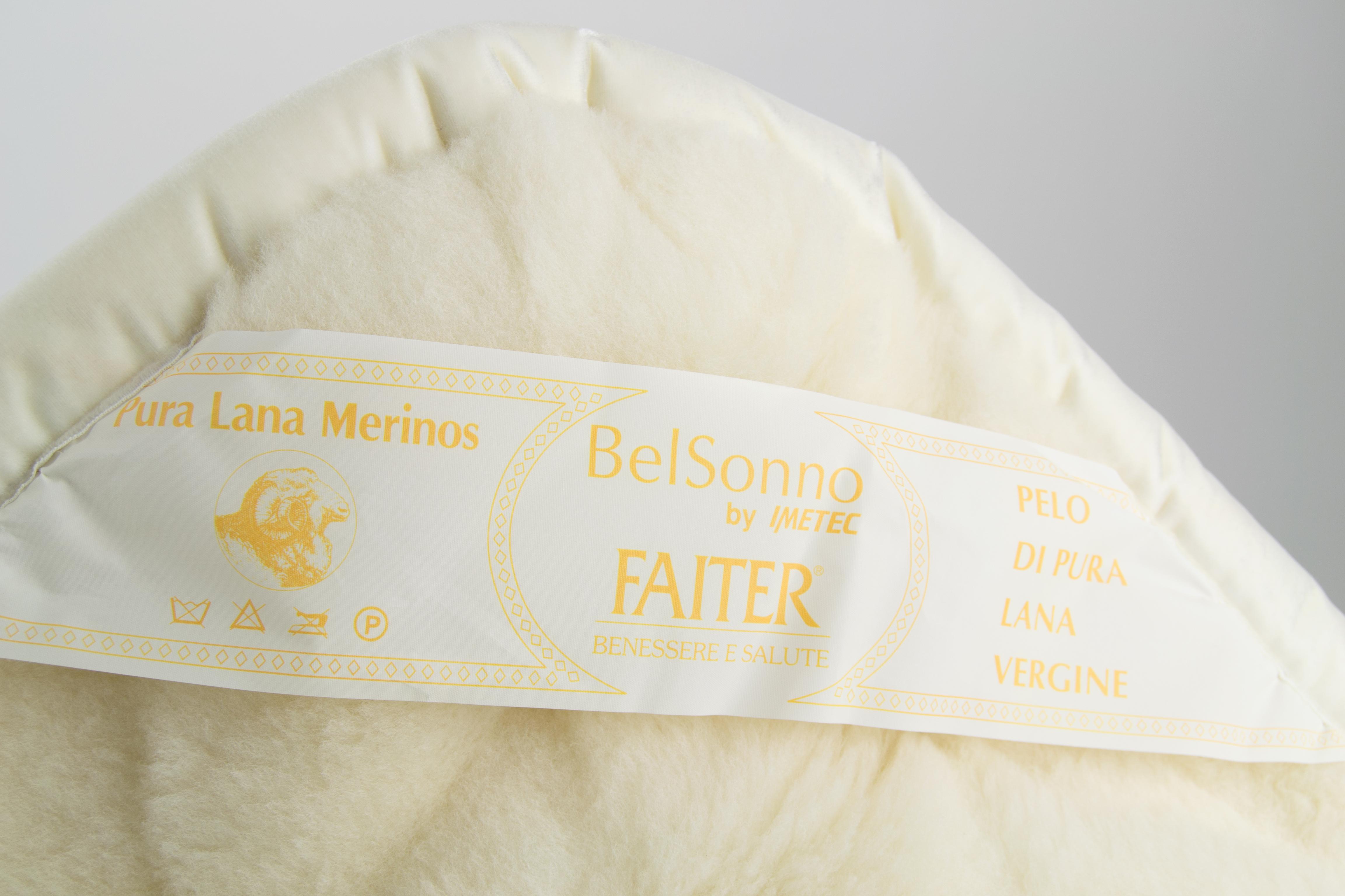 Completo Matrimoniale Lana Merinos.Coperta Matrimoniale In Pura Lana Vergine Merinos