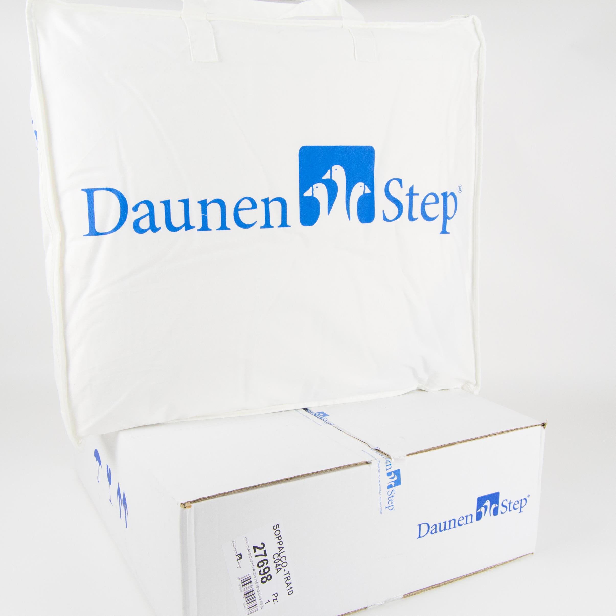 Piumino Daunenstep D800 - Punto Bianco