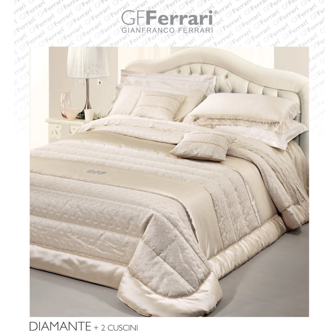 Trapunta Matrimoniale Gf Ferrari.Trapunta Matrimoniale Diamante Gf Ferrari