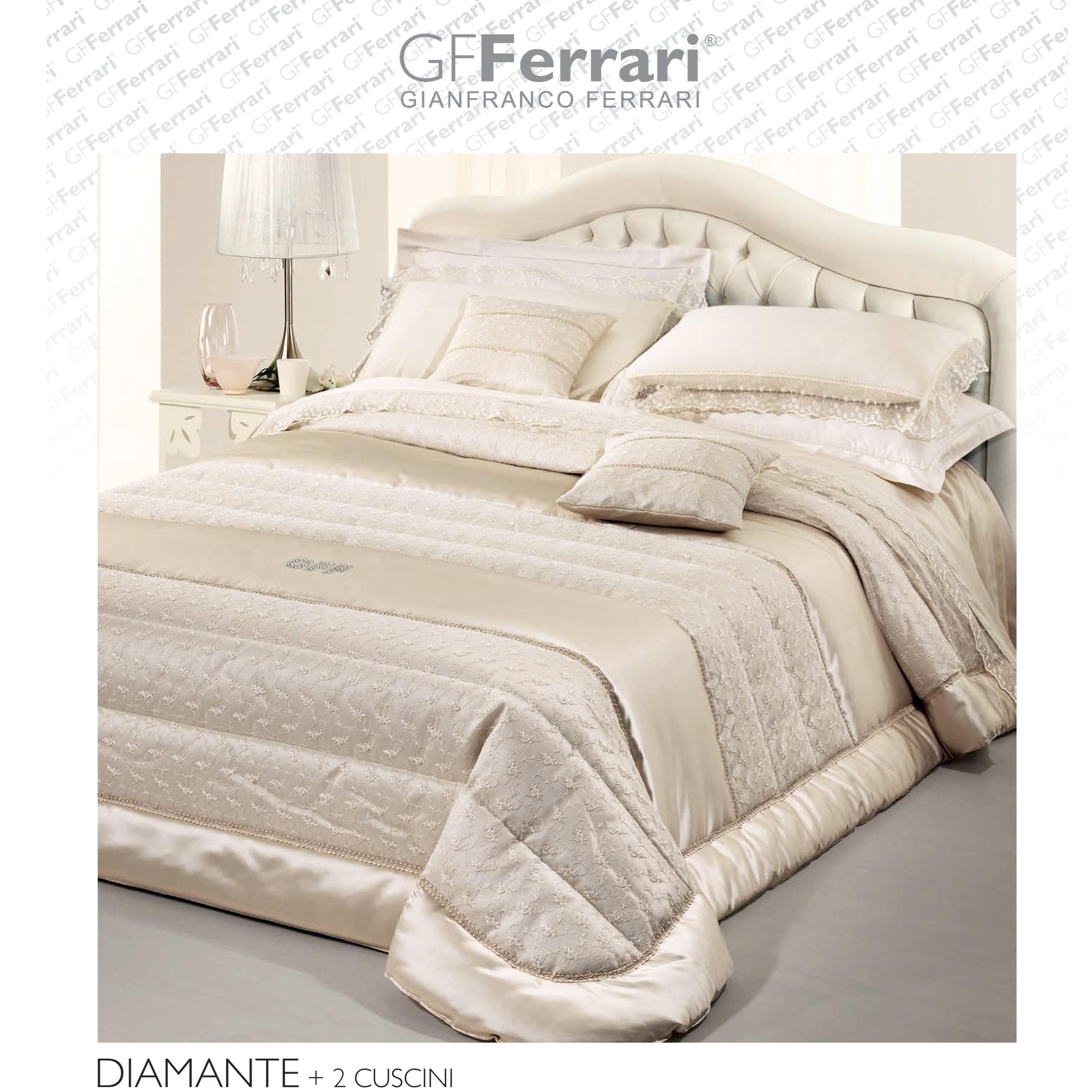 Piumone Matrimoniale Gf Ferrari.Trapunta Matrimoniale Diamante Gf Ferrari Solo 1 Pezzo Disponibile Punto Bianco