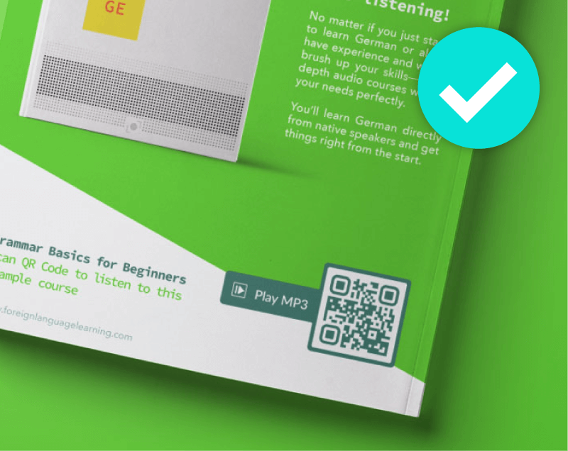 Don't print your QR Codes without a call to action frame