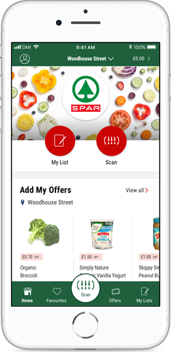 Spar and Eurospar convenience stores in Northern Island have introduced a 'Scan, Pay, Go' mobile app that lets customers check items are in stock before leaving their homes