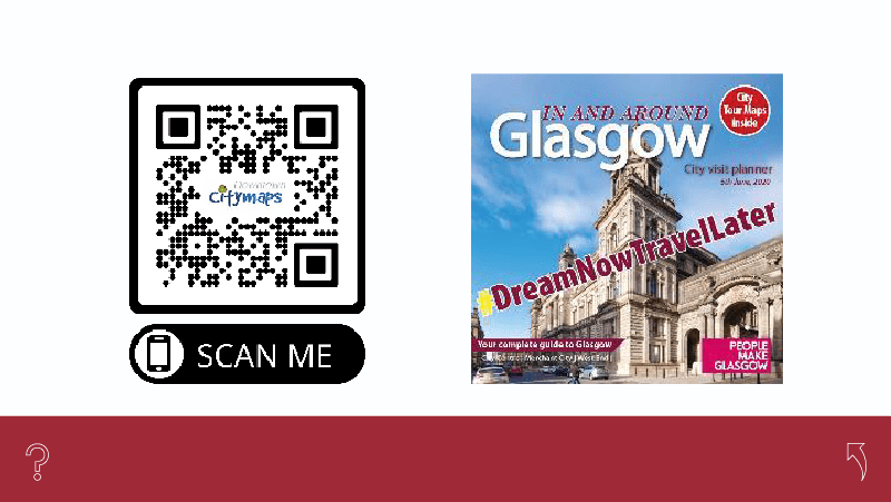 QR Codes enable no-touch access to a downloadable PDF of Download CityMaps
