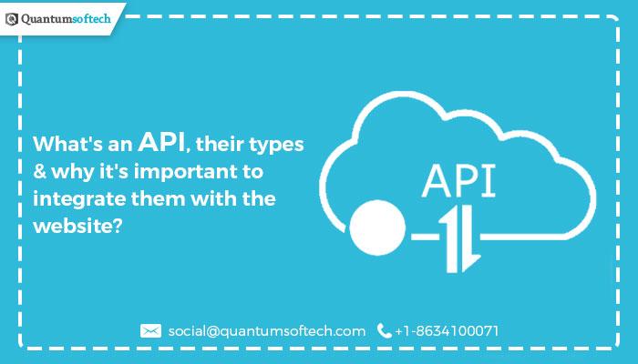 API Integration Services Quantumsoftech