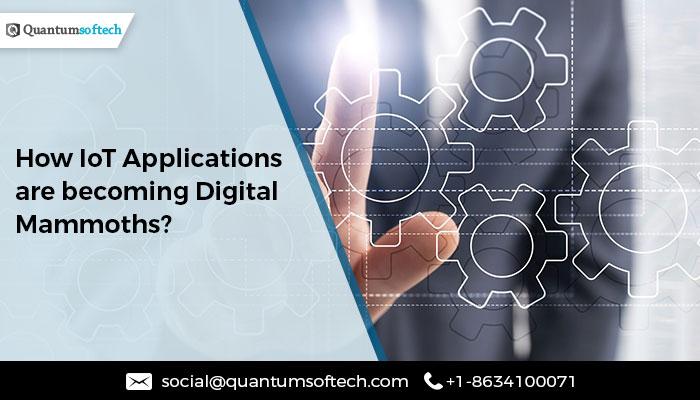 IoT App development services Quantumsoftech