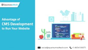 Advantage of CMS Development to Run Your Website