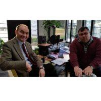 2018-03-20 Brunn am Gebirge AKTIV, Bürgermeistergespräch mit Dr. Andreas Linhart