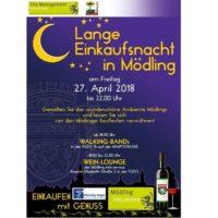 Lange Einkaufsnacht in Mödling am Fr, 27. April