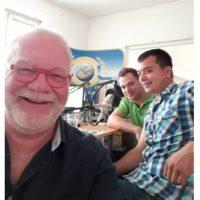 2018-06-01 Ing Christian NAVRKAL und Florian Zöchling, Alarmparty der Freiwilligen Feuerwehr Günselsdorf