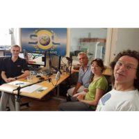 2018-06-05 Karin Halbritter, Authal Verlag und Autoren Erwin Holub und Philipp Heckmann