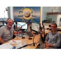 2018-06-08 Studiogast Dr. Phil. Ulrike Scholda Leiterin der Abteilung Museen Stadtgemeinde Baden