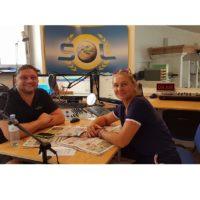 Radio SOL Morgenexpress mit Roli Hofbauer, Studiogast Romana Hofbauer