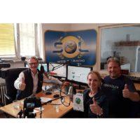 2018-10-12 Radio SOL Mittagsmagazin – Studiogast – Alexander König und Brigitte von upendo. tv