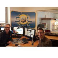 2018-10-17 Radio SOL Mittagsmagazin Studiogast- Florian Novotny Firma Sound Light Reflex