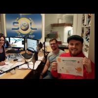 2018-11-08 Radio SOL Aktiv-Michael Szumowski und Benedikt Heimhilcher-Jugendrotkreuz Bad Vöslau