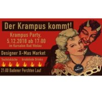 Krampusparty im No 3 Salon Kursalon am 5 Dez 2018