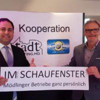 2018-11-27 Im Schaufenster – Mödlingsbetriebe ganz persönlich Studiogast – Dr Alexander Scheuch Rustler Immobilien