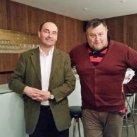 2018-12-04 Bürgermeistergespräch- Dr. Andreas Linhart – Bgm Brunn am Gebirge