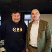2019-02-12 Bürgermeistergespräch mit Dr. Andreas Linhart, Bgm. Brunn am Gebirge