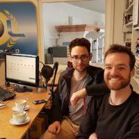 2019-03-11 Pascal Honisch & Stefan Franaschek von der lokalen Band Witwer – CD-Präsentation Fluss