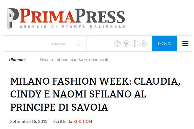 Prima Press – 16/09/2013