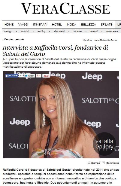Vera Classe intervista Raffaella Corsi