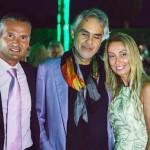 Alessandro Domanda, Andrea Bocelli e Raffaella Corsi
