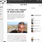 Andrea Bocelli e Salotti del Gusto 2015