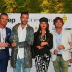 Alessandro Domanda, Daniele Interrante, Francesca De Andrè, Emilinao Usai e Raffaella Corsi Salotti del Gusto
