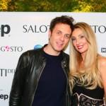 Gabriele Parpiglia e Raffaella Corsi Salotti del Gusto