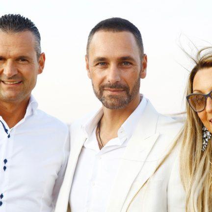 Alessandro Domanda, Raoul Bove e Raffaella Corsi di Salotti del Gusto