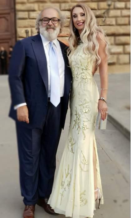 Stefano Ricci con Raffaella Corsi