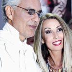 Raffaella Corsi e Andrea Bocelli
