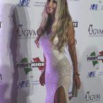 Raffaella Corsi alla celebrity Fight Night Portovenere