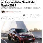 Jeep Alfa Romeo Salotti del Gusto