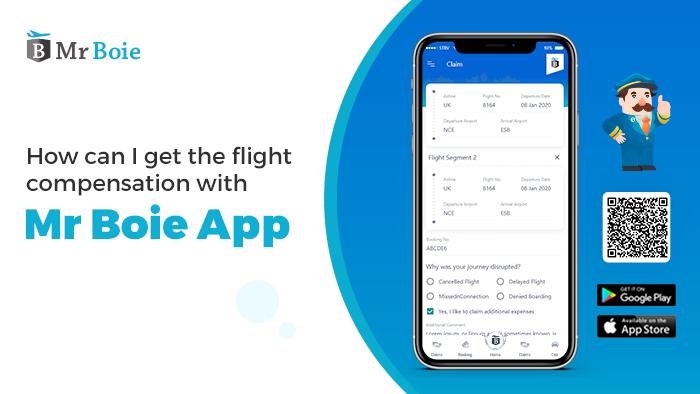 Flight Compensation With Mr Boie App