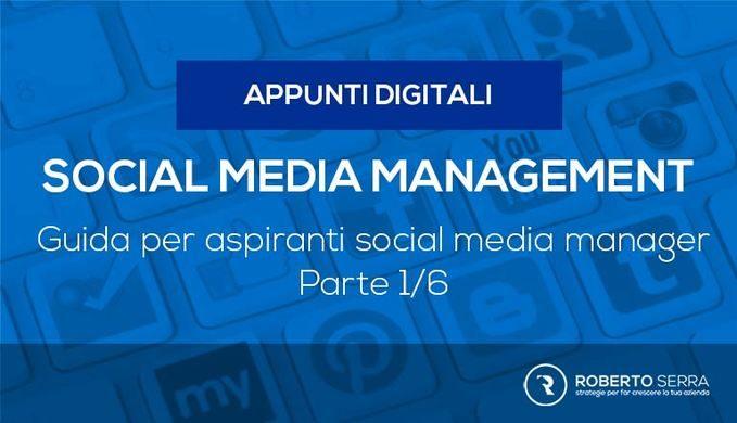 social media manager guida cover