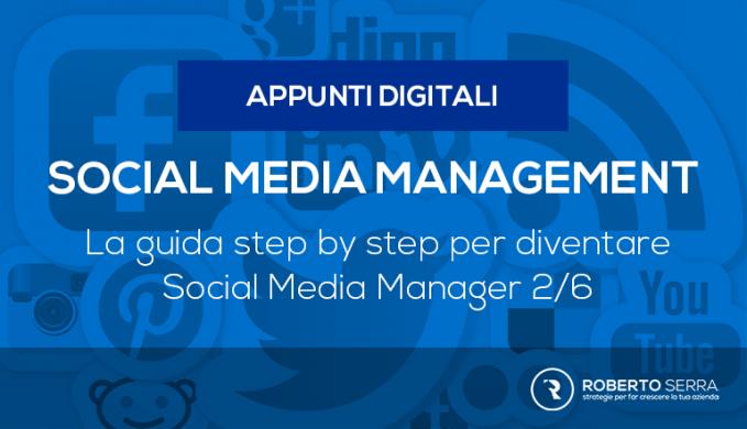corso step by step per diventare social media manager 2/6