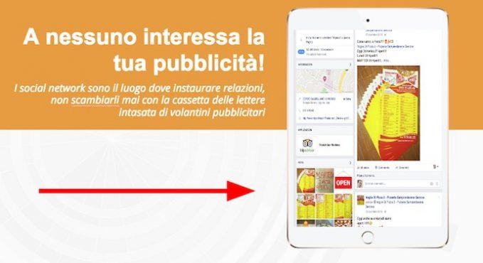 social media tips: a nessuno interessa la pubblicità