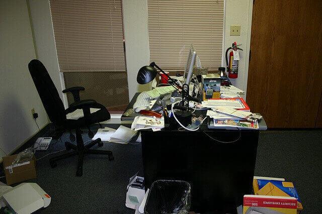 L'ufficiio di Linkedin nel 2003