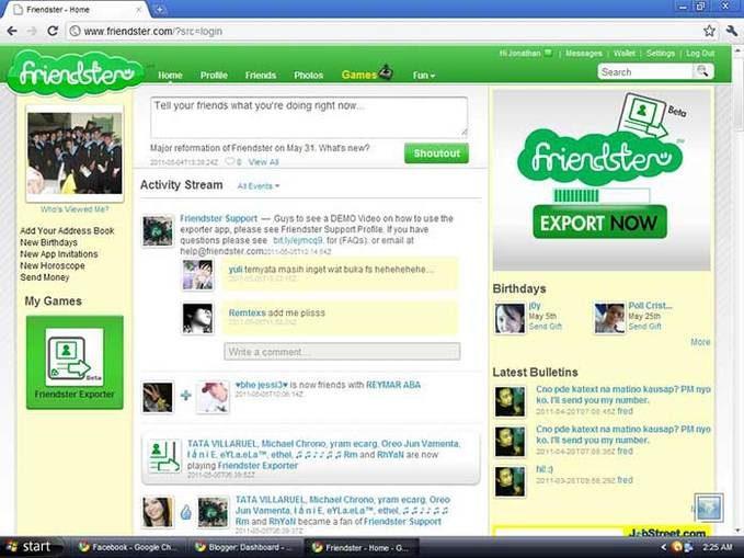 Friendster il social network prima di facebook