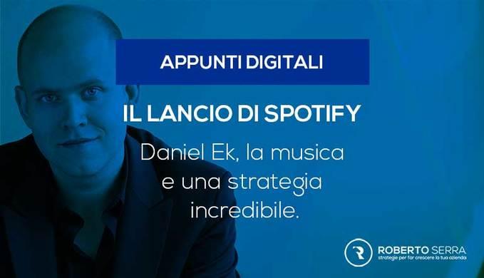 daniel ek e la storia del lancio di spotify