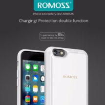 ROMOSS EnCase Power bank Black iPhone 6/6s - 2000mAh