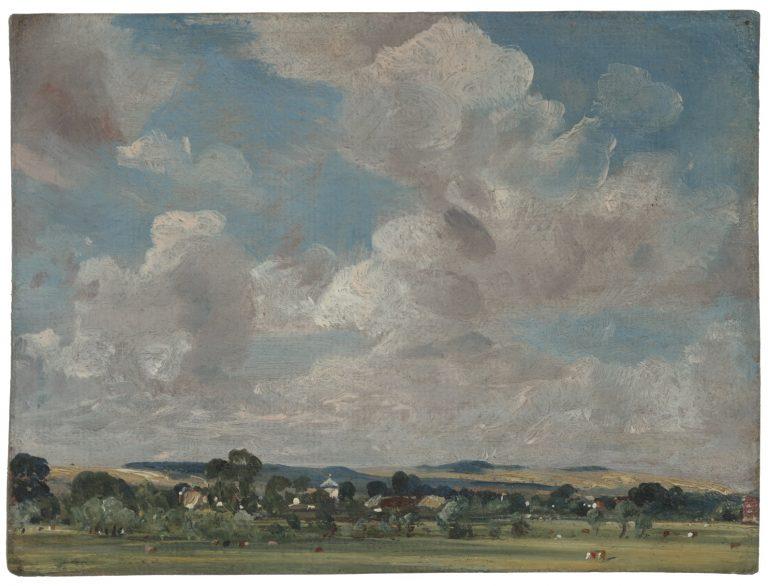 Fascinerende wolkenluchten van landschapsschilder John Constable