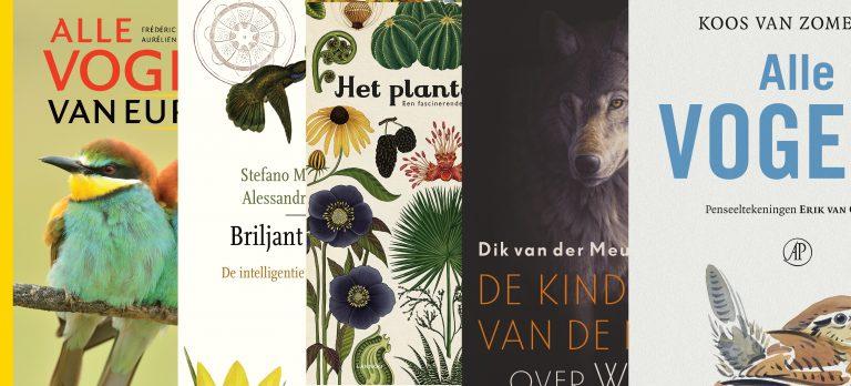 De mooiste natuurboeken van 2017